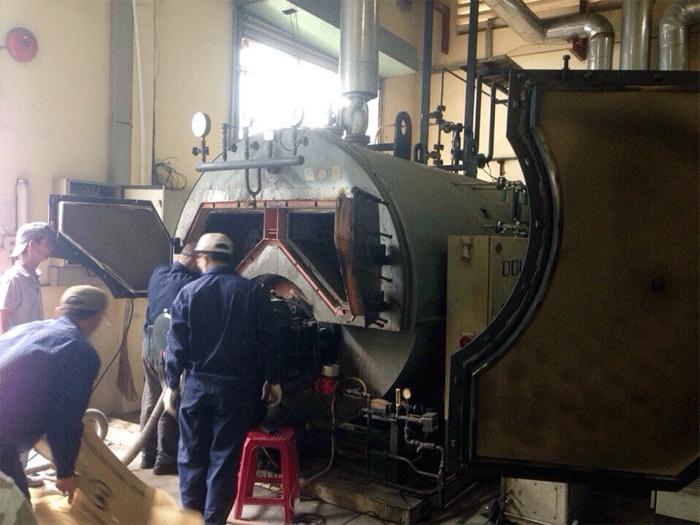 Các công việc chuẩn bị trước khi tiến hành kiểm định lò hơi
