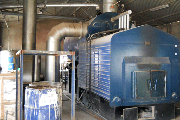 Grate Multi fuel boiler