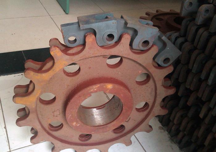 gear for boiler
