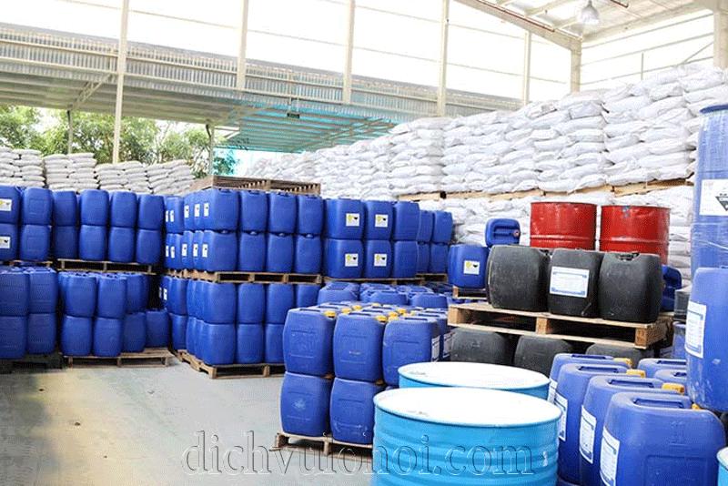 Hóa chất xử lý nước cho lò hơi công nghiệp